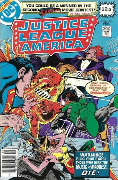 Cover for Justice League of America (DC, 1960 series) #163 [Regular Edition]