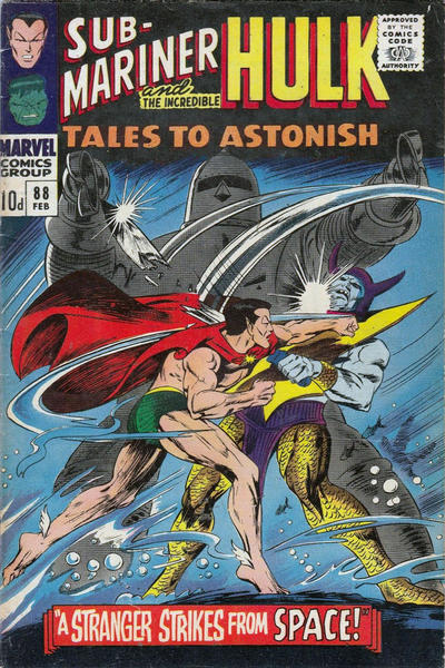 Cover for Tales to Astonish (Marvel, 1959 series) #88