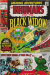 Cover for Amazing Adventures (Marvel, 1970 series) #4 [British Price Variant]