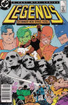 Cover for Legends (DC, 1986 series) #3 [Newsstand]
