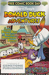 Cover for Walt Disney's Donald Duck Adventures - Free Comic Book Day (Gemstone, 2003 series) #[nn] [Silver banner, Gemstone Publishing]