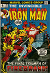 Cover Thumbnail for Iron Man (1968 series) #59 [British Price Variant]
