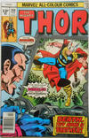 Cover Thumbnail for Thor (1966 series) #268 [British Price Variant]