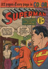 Cover for Superman (K. G. Murray, 1947 series) #110