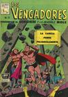 Cover for Los Vengadores (Editora de Periódicos La Prensa S.C.L., 1965 series) #53
