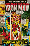 Cover Thumbnail for Iron Man (1968 series) #33 [British Price Variant]