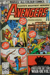 Cover Thumbnail for The Avengers (1963 series) #197 [British Variant]