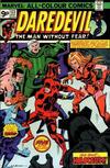 Cover for Daredevil (Marvel, 1964 series) #123 [British Price Variant]