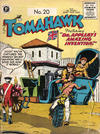 Cover for Tomahawk (Thorpe & Porter, 1954 series) #20