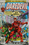 Cover for Daredevil (Marvel, 1964 series) #154 [British Price Variant]
