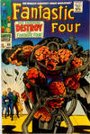Cover Thumbnail for Fantastic Four (1961 series) #68 [British Price Variant]
