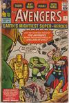 Cover for The Avengers (Marvel, 1963 series) #1 [British]