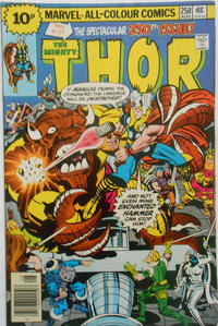 Cover for Thor (Marvel, 1966 series) #250 [25¢]