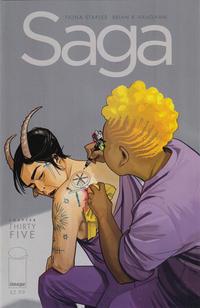 Cover Thumbnail for Saga (Image, 2012 series) #35