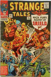 Cover for Strange Tales (Marvel, 1951 series) #142 [Regular Edition]