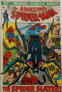 Cover for The Amazing Spider-Man (Marvel, 1963 series) #105 [Regular Edition]
