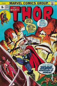 Cover Thumbnail for Thor (Marvel, 1966 series) #215 [British]