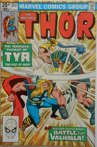Cover Thumbnail for Thor (Marvel, 1966 series) #312 [British]