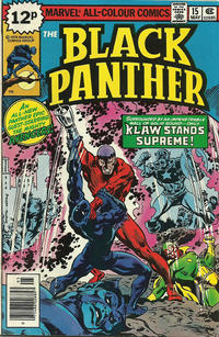 Cover Thumbnail for Black Panther (Marvel, 1977 series) #15 [British]