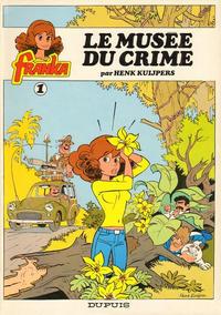 Cover Thumbnail for Franka (Dupuis, 1981 series) #1 - Le musée du crime