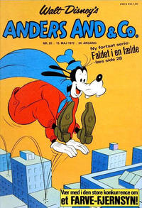 Cover Thumbnail for Anders And & Co. (Egmont, 1949 series) #20/1972