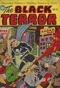 Cover Thumbnail for Black Terror Comics (Better Publications of Canada, 1948 series) #15