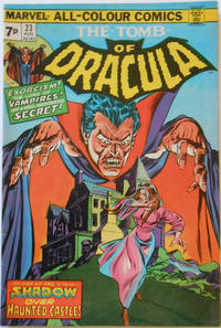 Cover Thumbnail for Tomb of Dracula (Marvel, 1972 series) #23 [British]