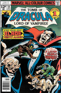 Cover Thumbnail for Tomb of Dracula (Marvel, 1972 series) #58 [British]