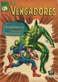 Cover Thumbnail for Los Vengadores (Editora de Periódicos La Prensa S.C.L., 1965 series) #116