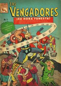 Cover Thumbnail for Los Vengadores (Editora de Periódicos La Prensa S.C.L., 1965 series) #5