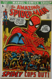 Cover Thumbnail for The Amazing Spider-Man (Marvel, 1963 series) #112 [British]