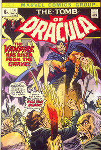 Cover Thumbnail for Tomb of Dracula (Marvel, 1972 series) #14 [British]