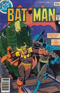 Cover for Batman (DC, 1940 series) #312