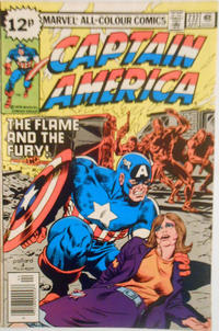 Cover for Captain America (Marvel, 1968 series) #232 [Regular Edition]