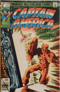 Cover for Captain America (Marvel, 1968 series) #239 [Newsstand Edition]