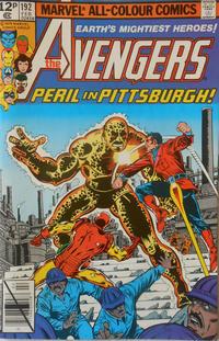 Cover Thumbnail for The Avengers (Marvel, 1963 series) #192 [British]