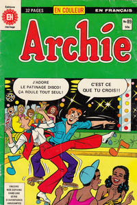 Cover Thumbnail for Archie (Editions Héritage, 1971 series) #89
