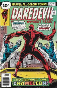 Cover Thumbnail for Daredevil (Marvel, 1964 series) #134 [British]