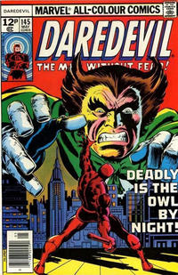 Cover Thumbnail for Daredevil (Marvel, 1964 series) #145 [British]