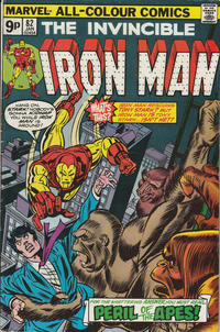 Cover for Iron Man (Marvel, 1968 series) #82 [Regular Edition]
