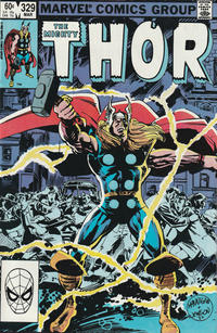 Cover Thumbnail for Thor (Marvel, 1966 series) #329 [Direct Edition]