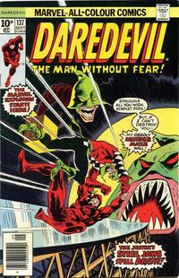 Cover for Daredevil (Marvel, 1964 series) #137 [Regular Edition]