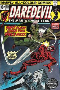 Cover Thumbnail for Daredevil (Marvel, 1964 series) #116 [British]