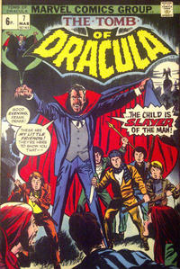 Cover Thumbnail for Tomb of Dracula (Marvel, 1972 series) #7 [British]