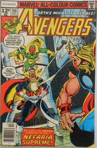 Cover Thumbnail for The Avengers (Marvel, 1963 series) #166 [British]