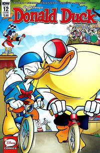Cover Thumbnail for Donald Duck (IDW, 2015 series) #12 / 379 [Regular Cover]