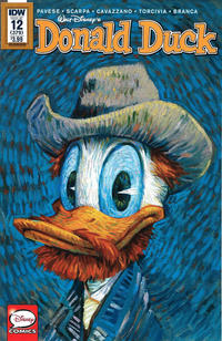 Cover Thumbnail for Donald Duck (IDW, 2015 series) #12 / 379 [Art Appreciation Variant]