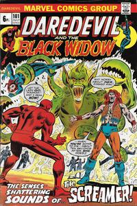 Cover Thumbnail for Daredevil (Marvel, 1964 series) #101 [British]