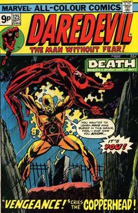 Cover Thumbnail for Daredevil (Marvel, 1964 series) #125 [British]