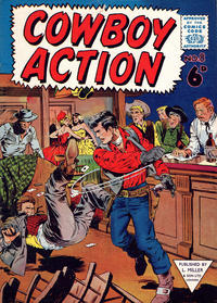 Cover Thumbnail for Cowboy Action (L. Miller & Son, 1956 series) #8